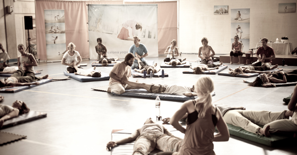 The Sacred Dance of BYC 2012 with Krishna Takis (2/3)