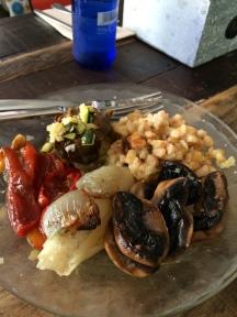 Lunch at Temps de Terra